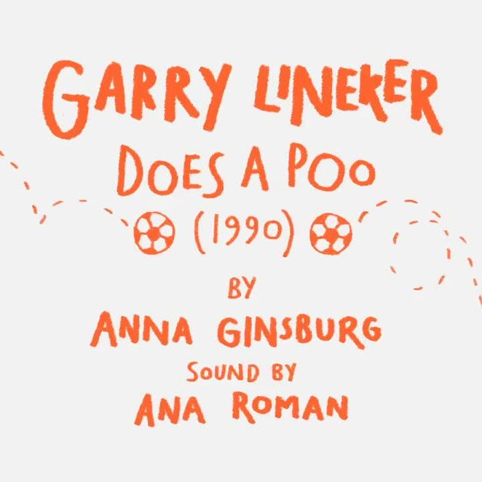 Gary Lineker does a poo by Anna Ginsburg