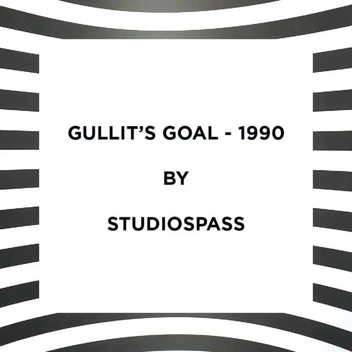 Gullit's Goal by StudioSpass