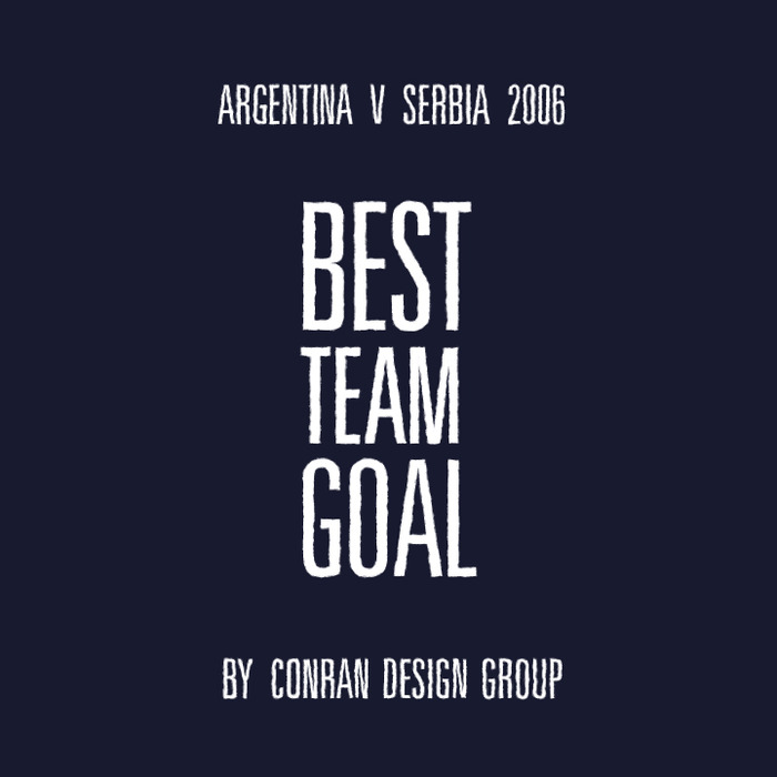 Best Team Goal by Conran Design Group