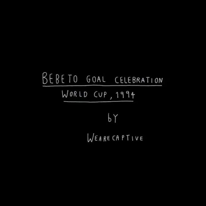 Bebeto Goal Celebration by We Are Captive