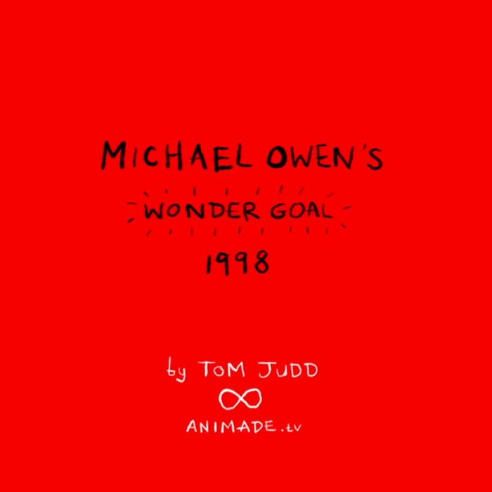Michael Owen's Wonder Goal by Tom Judd